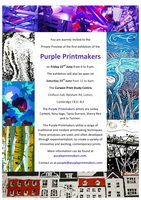 Launch of the Purple Printmakers